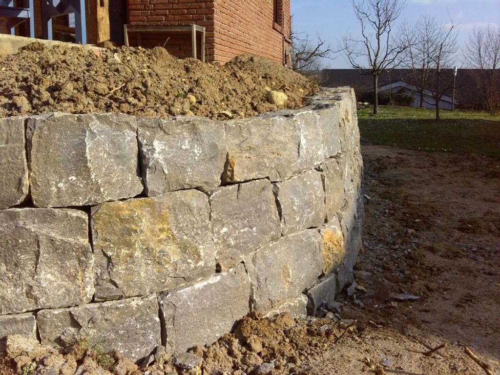 Trockenmauer in Vaihingen/Enz